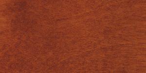 scale in legno di betulla tinta ciliegio