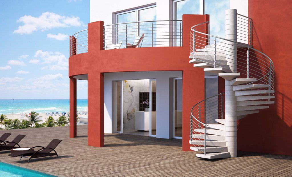 Scale per esterni in muratura elegant scale in muratura interne with scale per esterni in - Scale da esterno in muratura ...