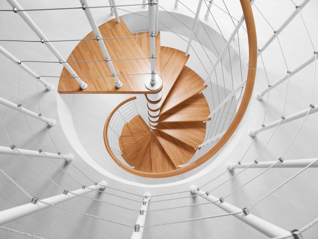 Disegnare Una Scala A Chiocciola progettare con il configuratore fontanot scale da interno genius