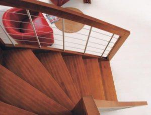 dettaglio scale interni Oxa
