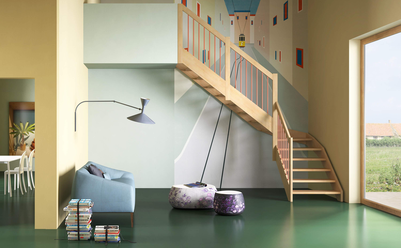 collezione scale in legno Oxa