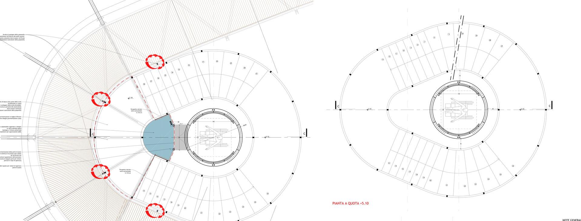 progettisti scale Fontanot