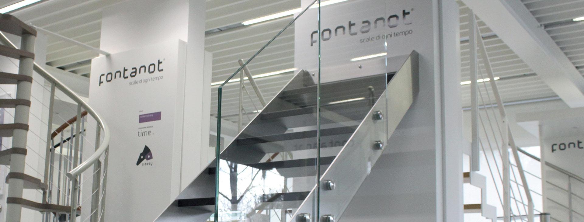 rivenditori scale Fontanot