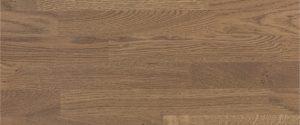 scale in legno di rovere avana scuro