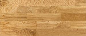 scale in legno di rovere naturale
