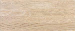 scale in legno di rovere sbiancato