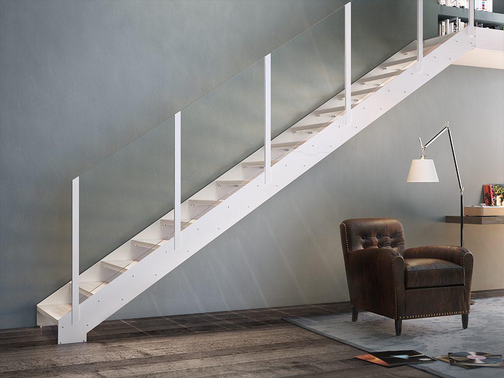 Lafont scale di design made in italy - Scale a rampa per interni ...