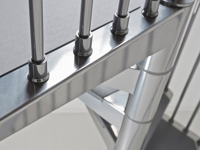Scale steel pixima fontanot scale prefabbricate in acciaio for Scale pixima