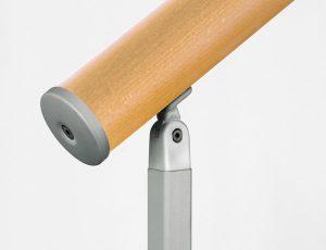 dettaglio corrimano scala in legno