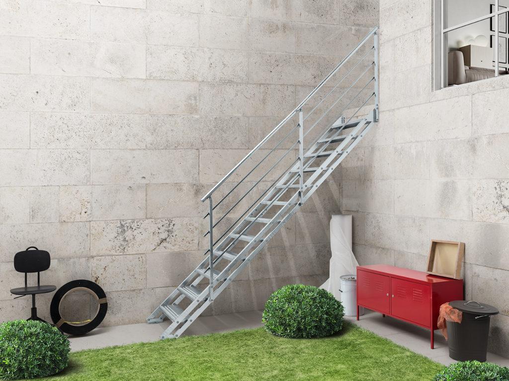 Scale Prefabbricate Per Esterni Sardegna stairs for interior, exterior made in italy fontanot.it