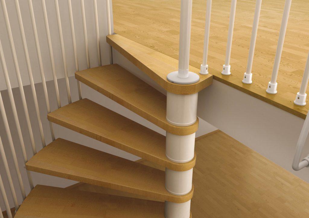 Scale A Chiocciola Pianta Tonda E Quadra Di Design Dimensioni E
